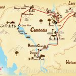 11-Day Cambodia Uncovered Tour Map