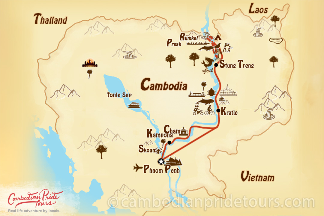 6-Day Mekong River Life Adventure Tour