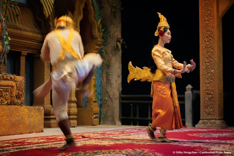 Traditional Khmer Dancing Performance
